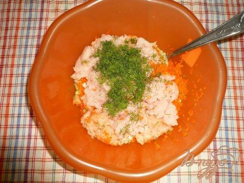 Нежные куриные котлетки с кабачком и морковью