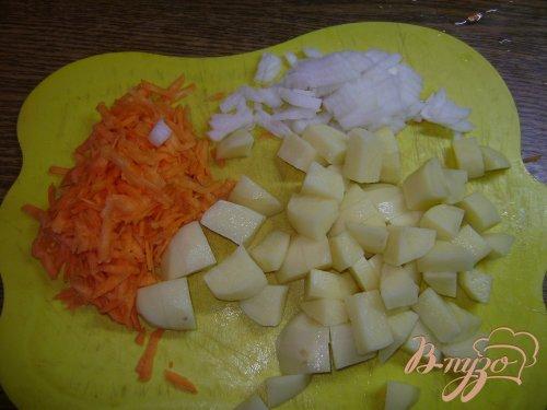 Суп с фрикадельками и паутинкой