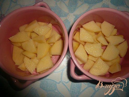 Овощи, запеченные в горшочке