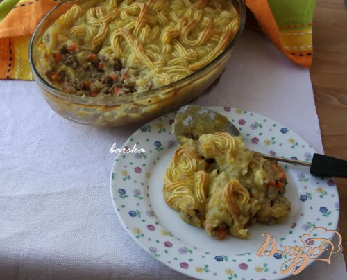 Английский шерпардский пирог Shepherd's Pie