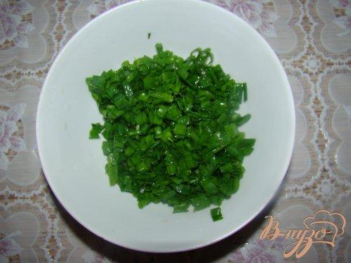 Китайские блины с зеленым луком