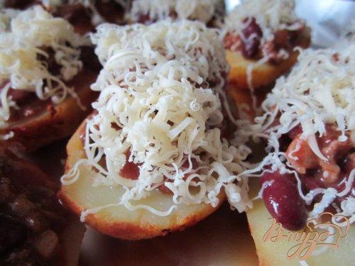 Картофельные лодочки с чили кон карне