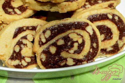 Печенье с фаджем