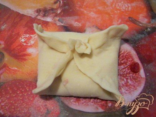 Слоёные конвертики с фруктовой начинкой
