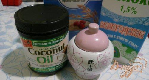 Овсяная каша с кокосовым маслом