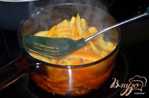 Засахаренные апельсиновые цукаты