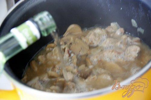 Свинина в творожно-горчичном соусе