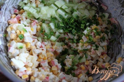 Салат из крабовых палочек, но по-новому...
