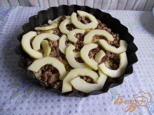 Овощи с фаршем запеченные в духовке