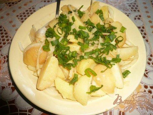 Картофельный с горчичной заправкой