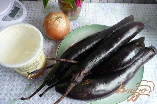 Густой соус из баклажанов