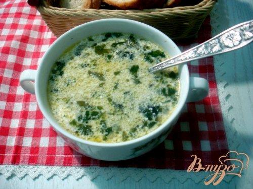 Суп грибной с опятами