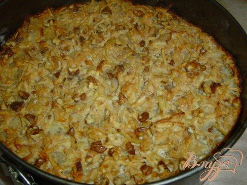Яблочный пирог болгарский
