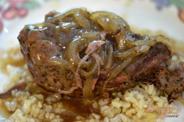 Рецепт Жаркое из говядины с кофейным соусом