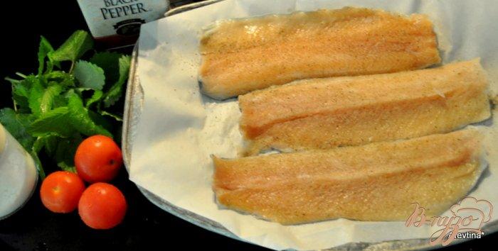 Фото приготовление рецепта: Форель с помидорами и базиликом шаг №1
