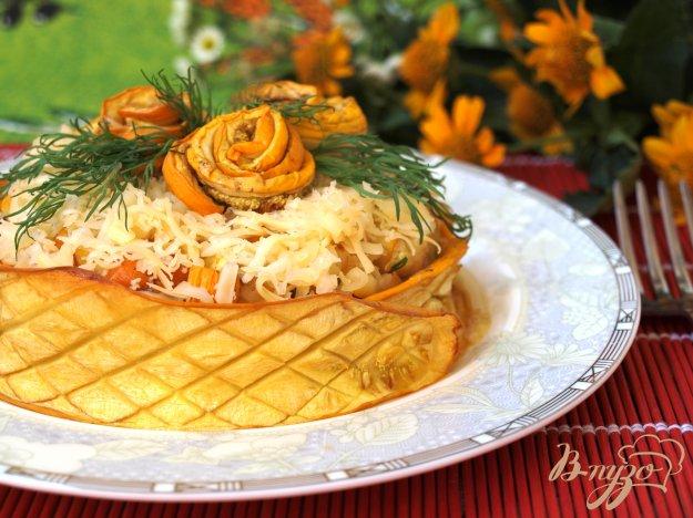 Рецепт Салат с кабачками-гриль
