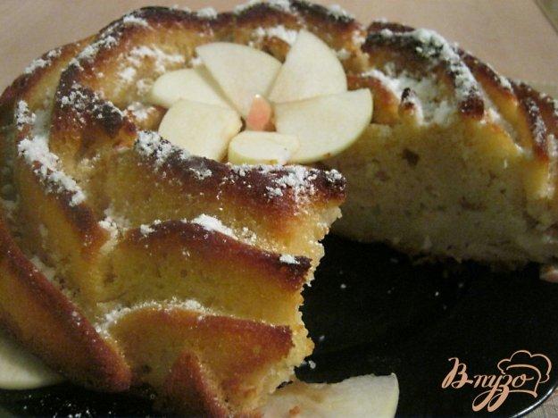 Рецепт Манник с яблоками