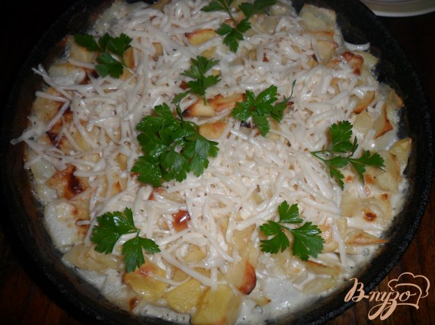 Рецепт Запеченная картофель с сыром