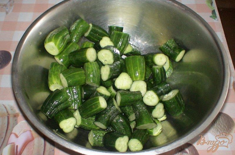 Фото приготовление рецепта: Овощное ассорти шаг №2