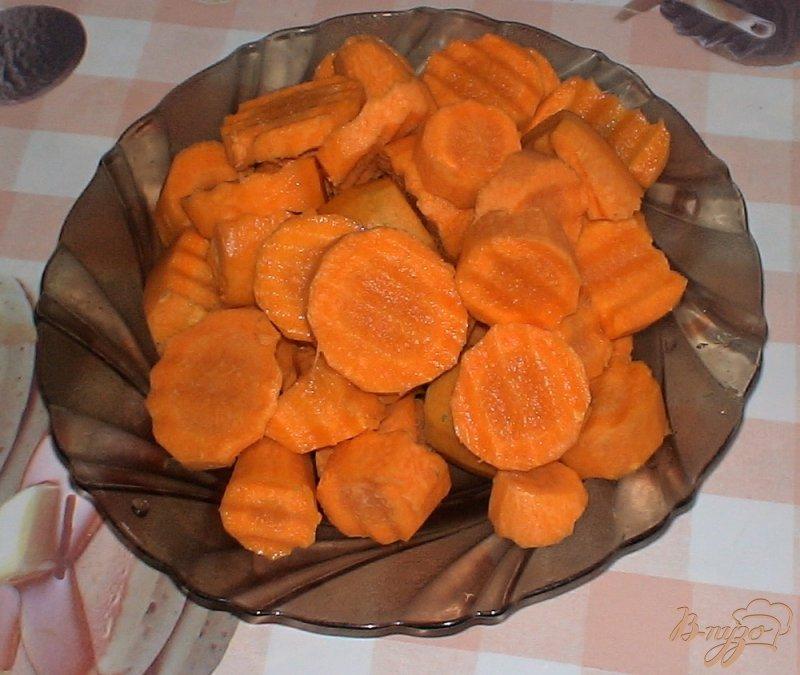 Фото приготовление рецепта: Овощное ассорти шаг №4