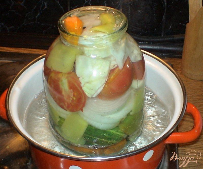 Фото приготовление рецепта: Овощное ассорти шаг №10