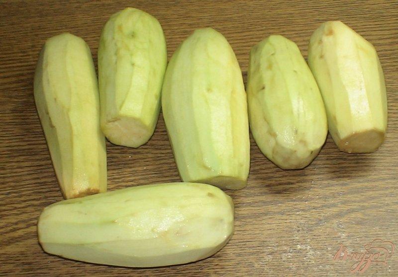 Фото приготовление рецепта: Помидоры с баклажанами консервированные шаг №1