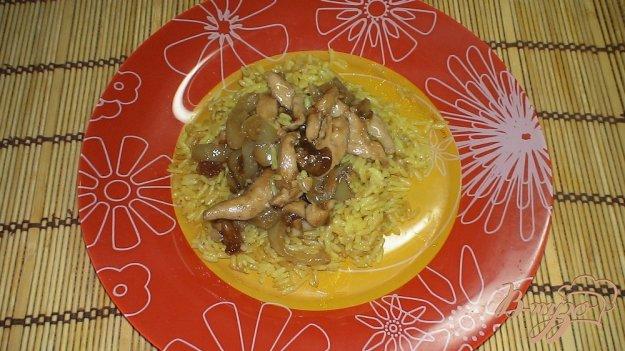Рецепт Куриное филе по-китайски с рисом