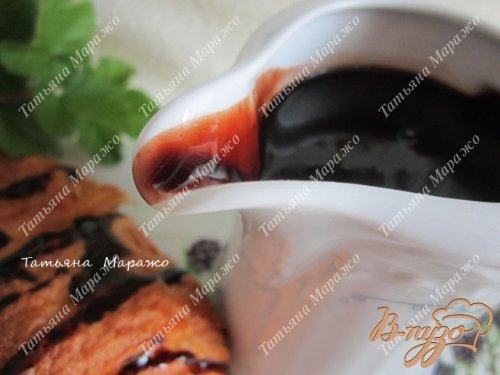 Шоколадный соус