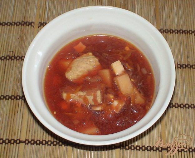фото рецепта: Свекольник со свининой