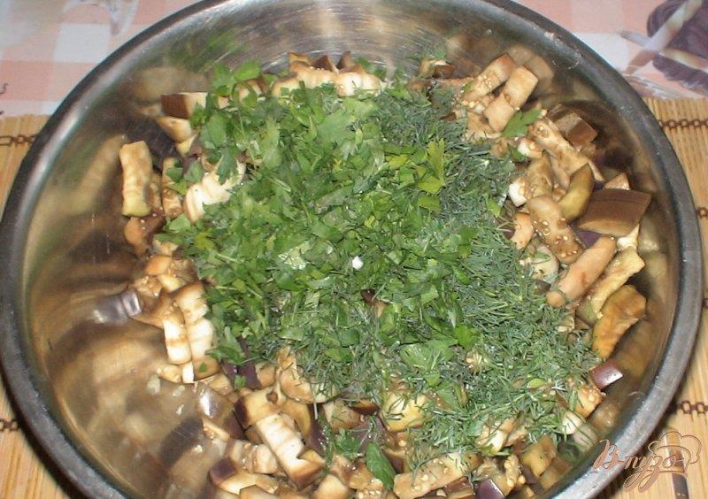 Фото приготовление рецепта: Баклажаны по-корейски шаг №7