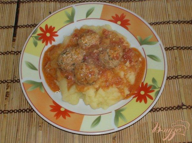 фото рецепта: Фрикадельки в соусе