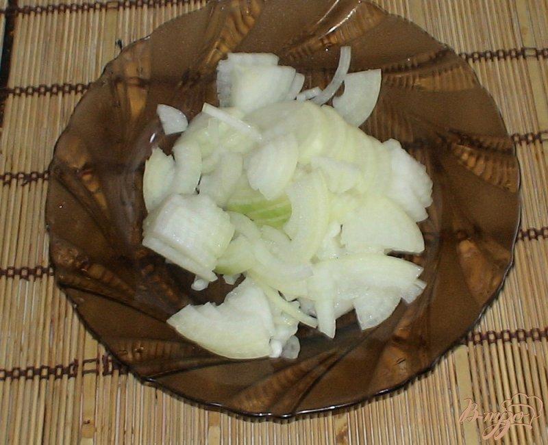 Фото приготовление рецепта: Кальмары по-корейски шаг №5