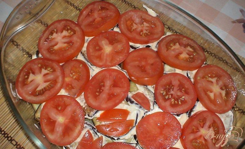 Фото приготовление рецепта: Запеченные овощи шаг №8