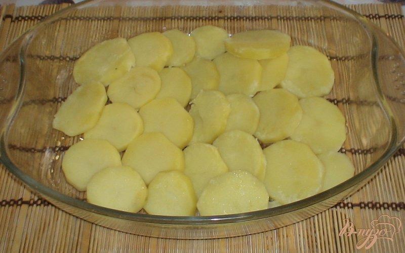 Фото приготовление рецепта: Запеченные овощи шаг №4