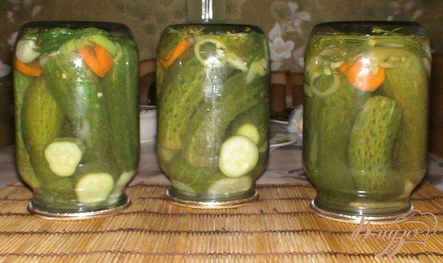 фото рецепта: Огурцы с лимонной кислотой