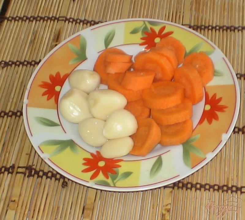 Фото приготовление рецепта: Огурцы с лимонной кислотой шаг №3
