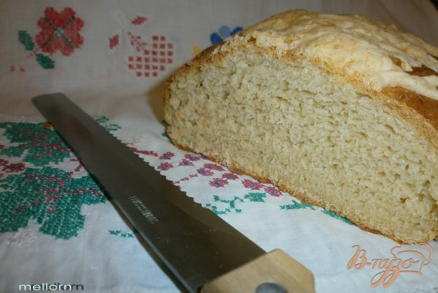 Рецепт Кукурузно-пшеничный батон с сыром