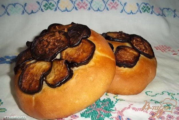 Рецепт Мини-лепешки с баклажанами