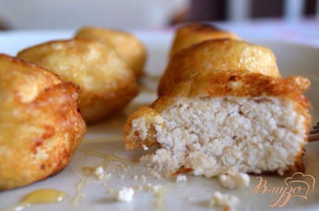 Рецепт Сладкие пончики с сыром