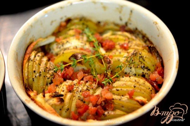 Рецепт Запеченный хрустящий картофель