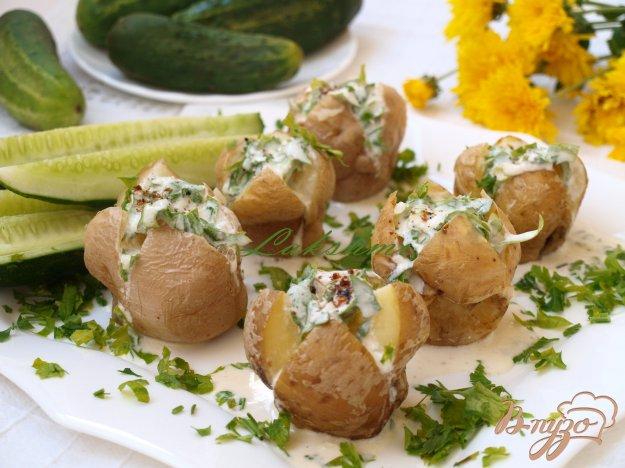 Рецепт Картофель,запечённый на соли
