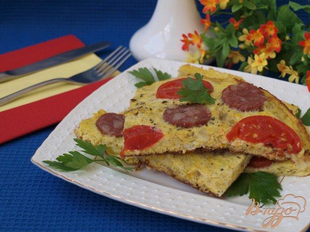 Рецепт Испанская тортилья (tortilla) из кабачков