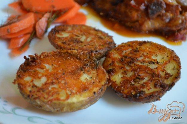 Рецепт Картофель с пармезаном и специями