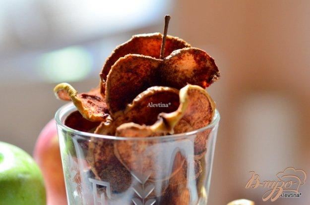 Рецепт Яблочные чипсы с корицей