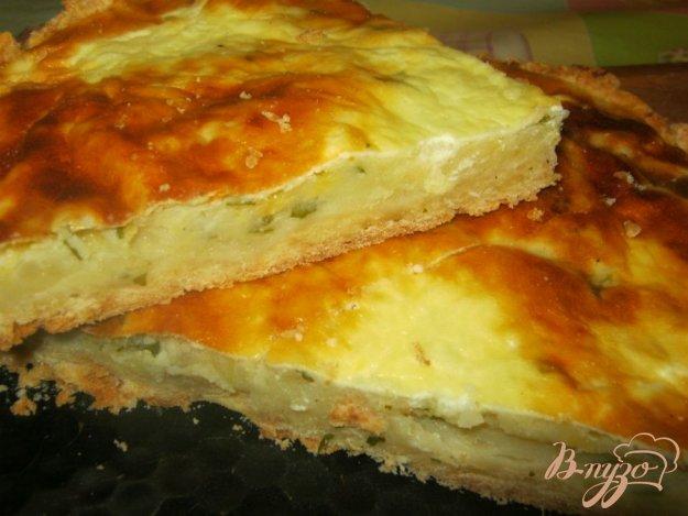 Рецепт Заливной картофельный пирог