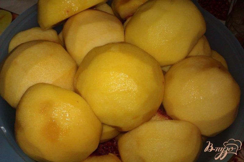 Фото приготовление рецепта: Пряные консервированные персики шаг №2