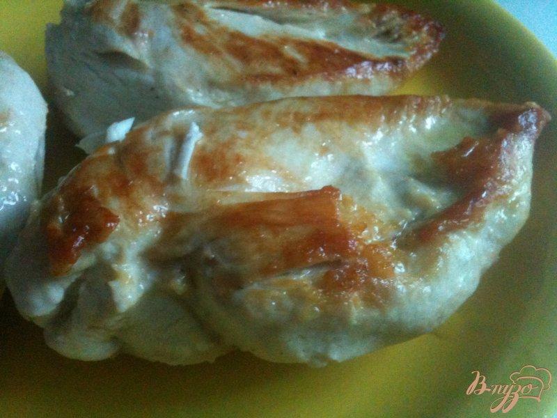 Фото приготовление рецепта: Куриные грудки с овощами шаг №1