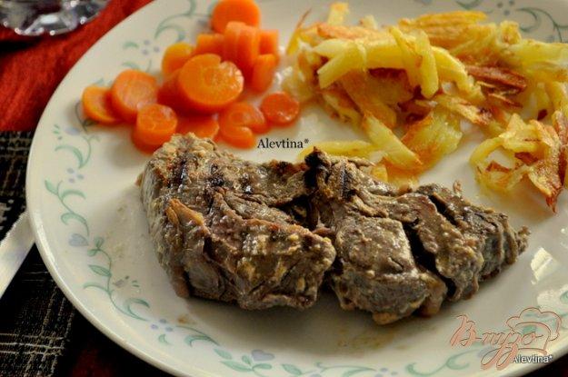 Рецепт Говядина в горчичном соусе