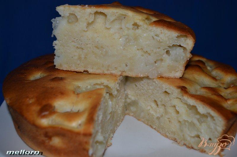 Фото приготовление рецепта: Пирог дынный шаг №5