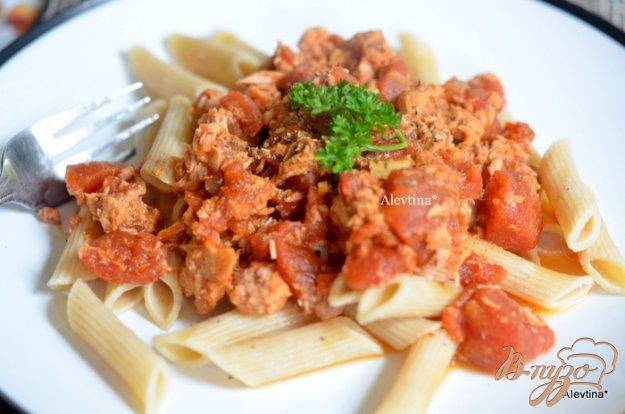 Рецепт Тунец с помидорами